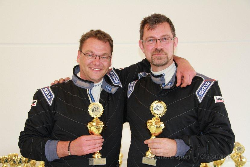 Siegerehrung GLP 2014 Lauf 3 - Frank Beckers, Dirk Bergner